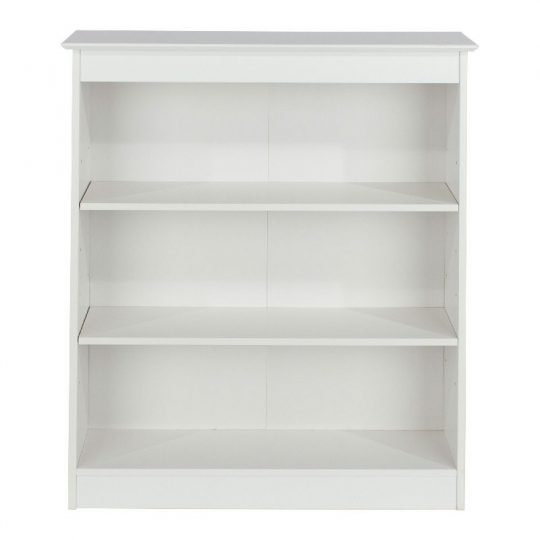 Aspen Low and Wide 3 Shelf Bookcase