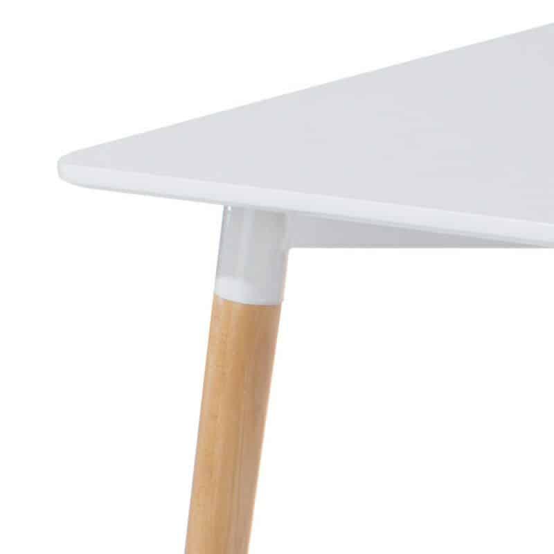 White rectangular dining table for 4 cheap furniture for Cheap furniture companies