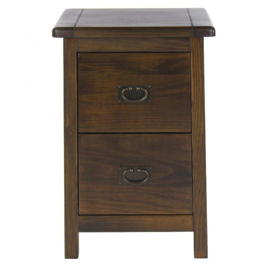 Boston 2 Drawer Petite Bedside Cabinet