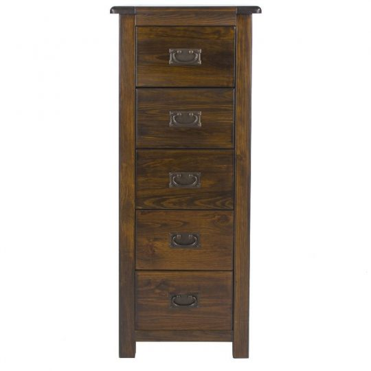 Boston 5 Drawer Narrow Chest