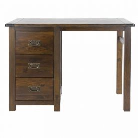 Boston Single Pedestal Dressing Table (Ambidextrous)