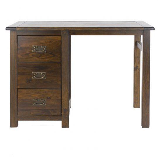 Boston Single Pedestal Dressing Table (Ambidextrous)