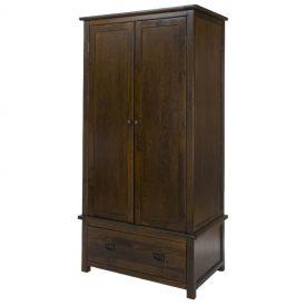 Boston 2 Door, 1 Drawer Wardrobe