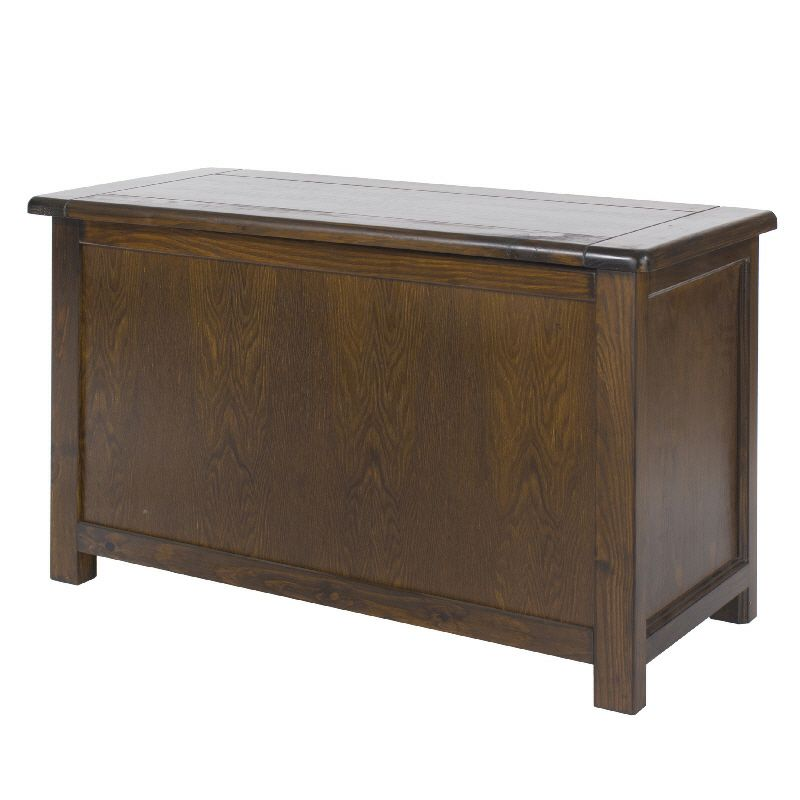 Boston premium dark wood ottoman cheap furniture for Affordable furniture uk