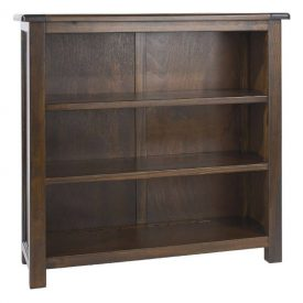 Boston Low 3 Shelf Bookcase