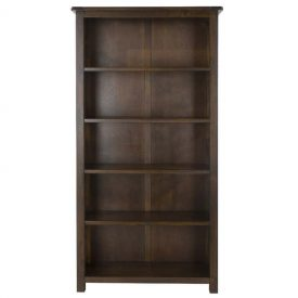 Boston Tall 5 Shelf Bookcase