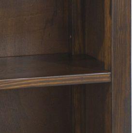 CLose up of Boston bookcase shelf
