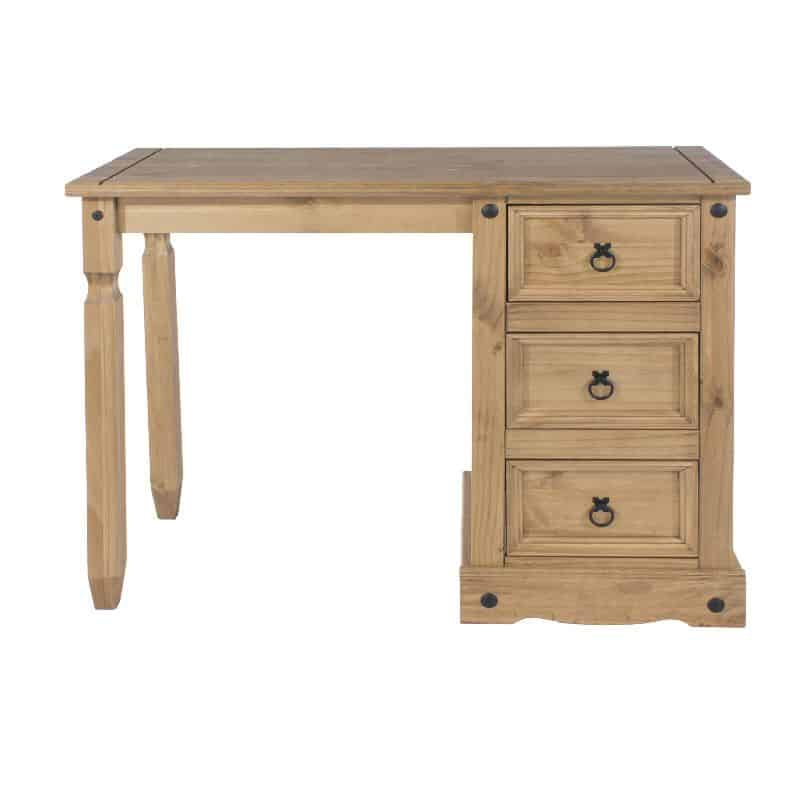 Pine 3 drawer dressing table cheap furniture for Cheap pine furniture