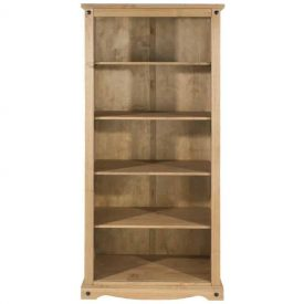 Corona 4 Shelf Tall Deep Bookcase