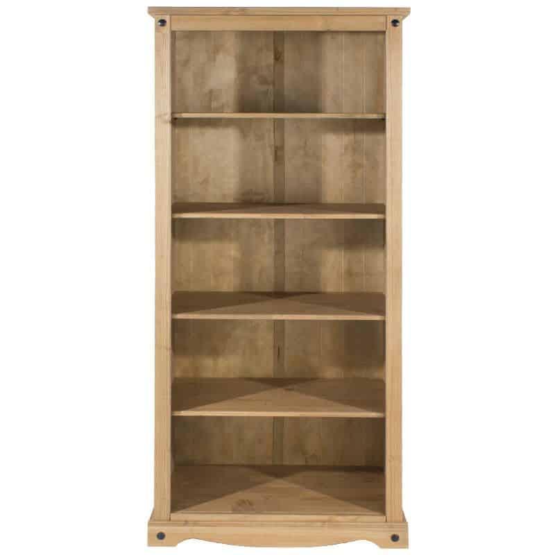 Corona 4 Shelf Tall Deep Bookcase