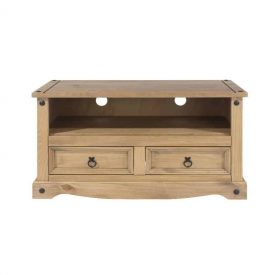 Corona Low 2 Drawer TV Unit