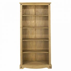Corona 4 Shelf Tall Bookcase