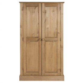 Cotswold 2 Door Wardrobe With Top Shelf
