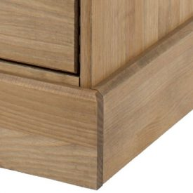 Pine Bedside Cabinet 2 Drawers [Cotswold]