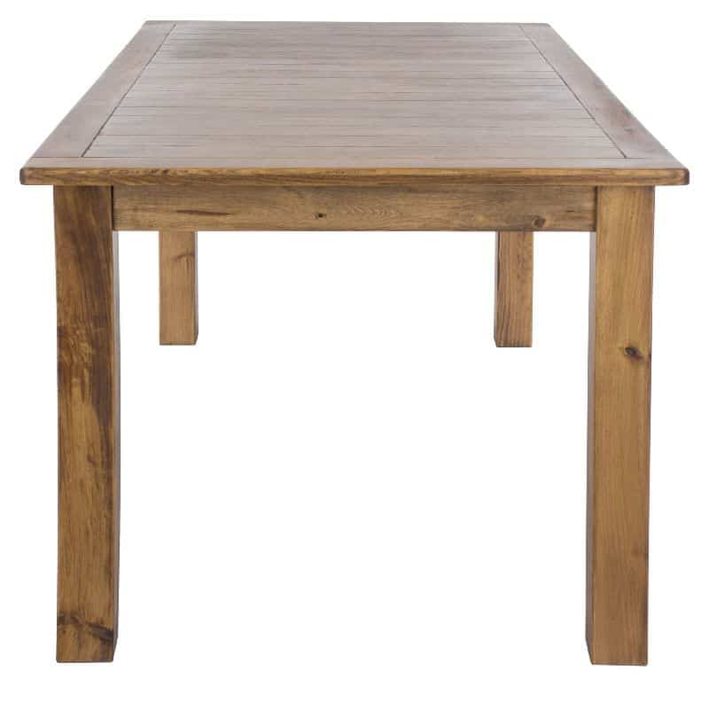 Dining tables denver denver dining table amish direct for Affordable furniture denver colorado