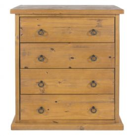 Farmhouse 4 Drawer Chest