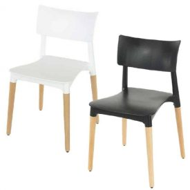 Aspen Square Dining Chair with Conventional Back Rest