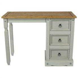 Corona Grey Washed dressing table