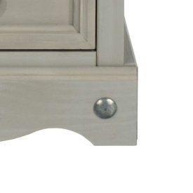 Corona Grey bottom corner detail