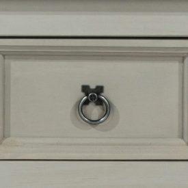 Corona Grey Washed drawer pull