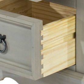 Corona Grey Washed drawer