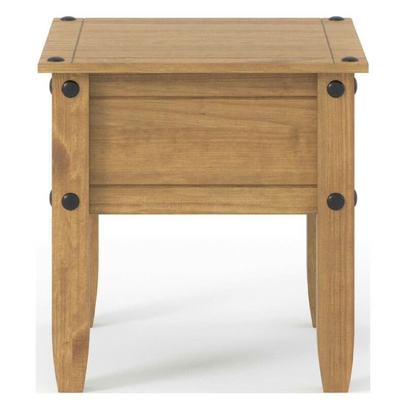 Waxed Pine Lamp Table [Corona]