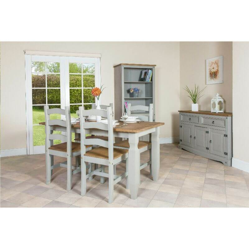 Corona Grey 3 Door 2 Drawer Sideboard