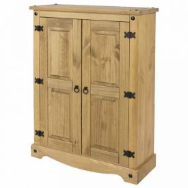 Pine Low Cupboard 2 Doors [Corona]