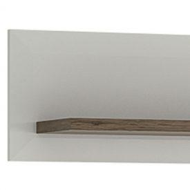 White & Oak Wall Shelf (L) [Toronto]