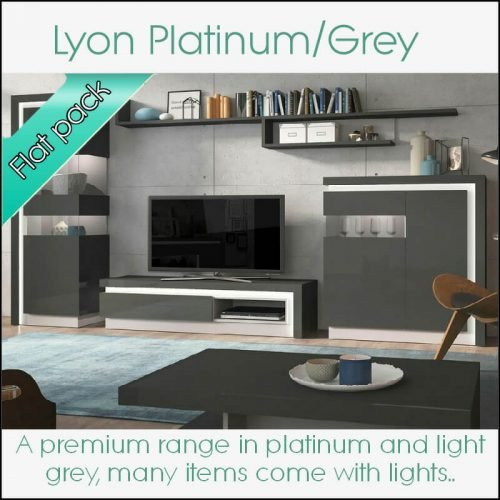 Lyon Platinum/Grey